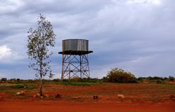 Mary Vale Water Tank Royalty Free Stock Images