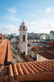 Mary Virgo Cathedral in Habana Vieja Stock Photos