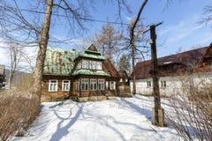 Marya nomeado casa de campo em Zakopane Fotos de Stock