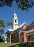 Maryborough town hall. Town hall and clock tower, maryborough landmark royalty free stock images
