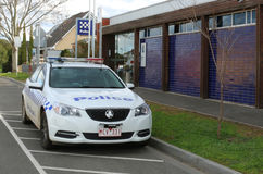 MARYBOROUGH, VICTORIA, AUSTRALIA - August 21, 2015: Maryborough's $4.7 million 24-hour police station was opened in July 2004. After a 30-month delay and $240 royalty free stock photos