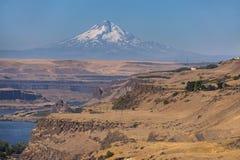 Maryhill, Вашингтон и Mt клобук mt Орегон Стоковое фото RF