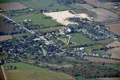 Maryhill Ontario, aéreo Imagen de archivo libre de regalías