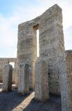 Maryhill Stonehenge. Replica in Washington State royalty free stock images