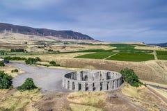 Maryhill Stonehenge Waszyngtoński Wojenny pomnik Fotografia Royalty Free