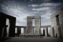 Maryhill Stonehenge Wojennego pomnika muzeum Zdjęcia Stock