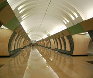 maryina地铁莫斯科roshcha岗位 免版税库存照片