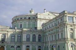Maryinsky-Theaterstadt St Petersburg Petersburg von Russland Stockfotografie