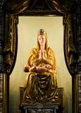 Maryja Dziewica i dziecka Jezus statua Zdjęcia Royalty Free