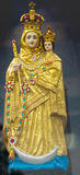 Maryja Dziewica statua przy Vadipatti Arockia Annai świątynią obraz stock