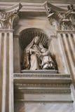 Maryja Dziewica, Watykan, Włochy obrazy royalty free