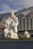 Maryjny Joseph i Jezusowa statua Zdjęcie Royalty Free