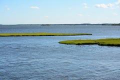 Maryland Assawoman zatoki wpust Zdjęcie Stock
