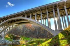 Maryland B&O Bridge. The B&O Bridge that spans the Patapsco River in Maryland Royalty Free Stock Photos