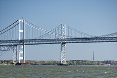 Maryland bay bridge Stock Images