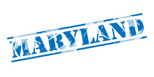 Maryland blue stamp Stock Photos