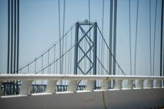 Maryland-Buchtbrücke Lizenzfreie Stockbilder