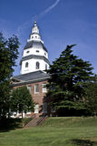 Maryland Capital Building. Catured on sunny day stock image
