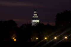 Maryland Capitol Building dome, night view. Maryland Capitol Building dome, Annapolis Maryland Stock Photos