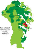 Maryland county Stock Images