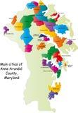 Maryland county Stock Image