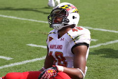 Maryland defensive back Eric Franklin Stock Photos