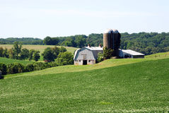 Maryland Farm Royalty Free Stock Photos