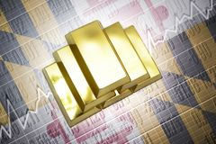 Maryland gold reserves Royalty Free Stock Photography