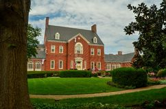 The Maryland Governor`s Mansion and Grounds Royalty Free Stock Images