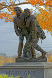 Maryland Monument at Gettysburg Stock Photo