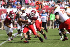 Maryland Quarterback # 11 Perry Hills Stock Image