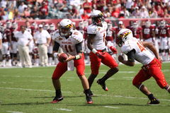 Maryland Quarterback # 11 Perry Hills Royalty Free Stock Photo