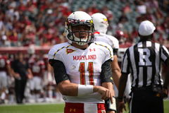 Maryland Quarterback # 11 Perry Hills Stock Photo