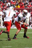 Maryland Quarterback # 11 Perry Hills Royalty Free Stock Photography