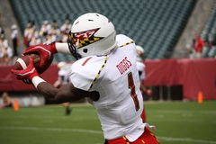 Maryland receiver #1 Stefon Diggs Stock Photo