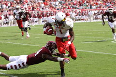 Maryland receiver #1 Stefon Diggs Royalty Free Stock Images