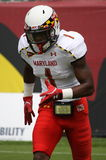 Maryland receiver-1 Stefon Diggs Obrazy Royalty Free