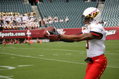 Maryland receiver#3 Nigel King Stock Photos