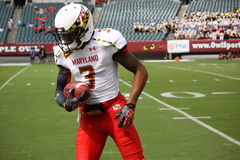 Maryland receiver Nigel King #3 Stock Photo
