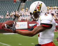 Maryland receiver#3 Nigel King Stock Image