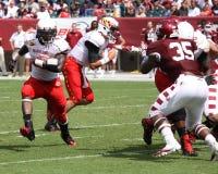 Maryland running back #44 Justin Pickett Royalty Free Stock Photo