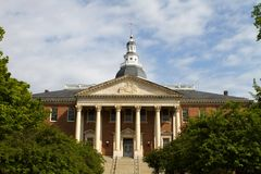 Maryland State Capitol Stock Image