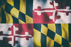 Maryland State flag Stock Photography
