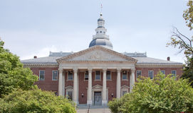 Maryland State House in Annapolis Stock Image