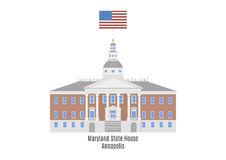 Maryland State House, Annapolis Stock Images