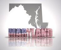 Maryland State Royalty Free Stock Photo
