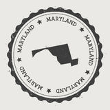Maryland vector sticker. Stock Photos