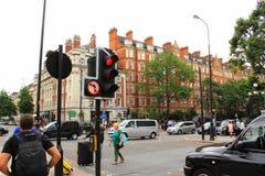 Marylebone Road London city England Stock Photos