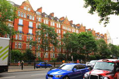 Marylebone Road London city England Royalty Free Stock Images