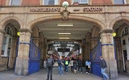 Marylebone station arkivfoto